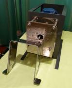 Дисковая мельница. Вид со снятым кожухом.