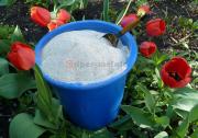 Мельница для муки. Мука пшеничная цельнозерновая, фракция 0,25 мм.