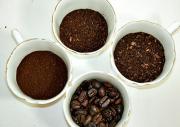 Степень помола кофе. От степени помола зависит метод приготовления кофе и его вкус.